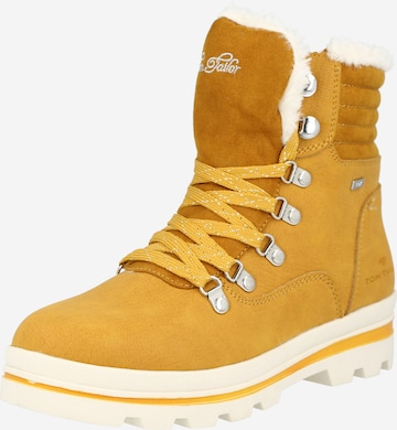TOM TAILOR Snow boots in Yellow