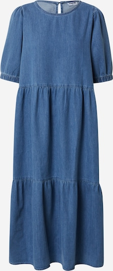 Noisy May (Tall) Jurk 'SESSI' in de kleur Blauw denim, Productweergave