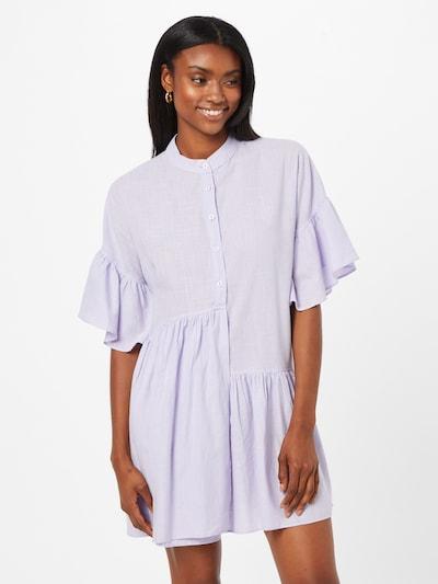 Trendyol Košilové šaty - pastelová fialová, Model/ka