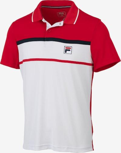 FILA Performance Shirt 'Anton' in Night blue / Red / White, Item view