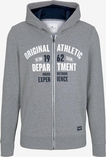 Džemperis iš TOM TAILOR , spalva - nakties mėlyna / margai pilka / balta, Prekių apžvalga