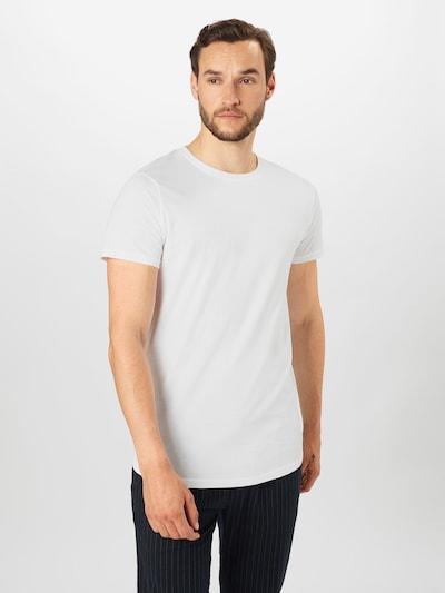 !Solid Skjorte i hvid: Frontvisning