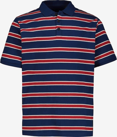 JP1880 Shirt in navy / rot / weiß: Frontalansicht