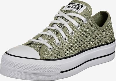 CONVERSE Nízke tenisky 'Chuck Taylor All Star' - zelená / čierna / biela, Produkt