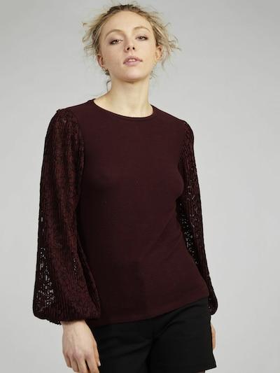 NAF NAF Bluse 'Sissy' in weinrot, Modelansicht