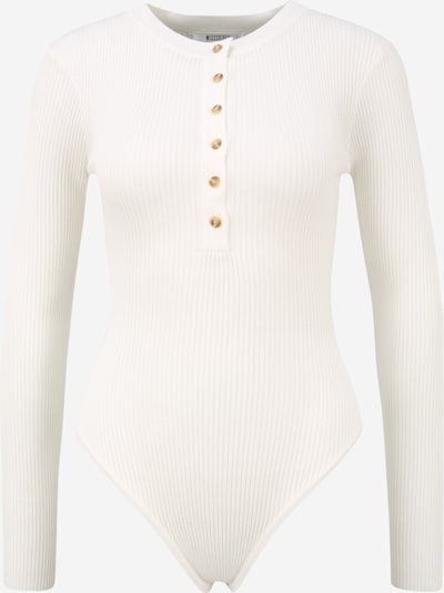 Missguided (Petite) Shirtbody in weiß, Produktansicht