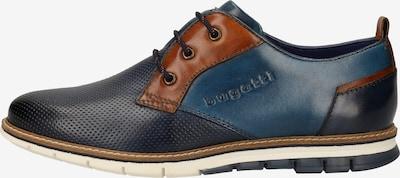 bugatti Businessschuhe in blau / dunkelblau / braun, Produktansicht