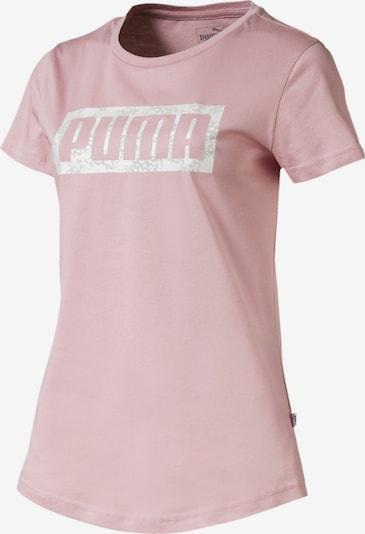 PUMA Graphic Logo Damen T-Shirt in pink, Produktansicht