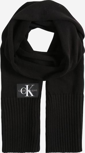 Calvin Klein Jeans Schal in dunkelgrau / schwarz / weiß, Produktansicht