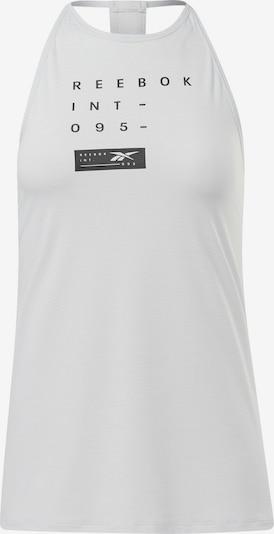 REEBOK Sporttop in schwarz / weiß, Produktansicht