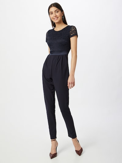 WAL G. Jumpsuit in navy, Modelansicht
