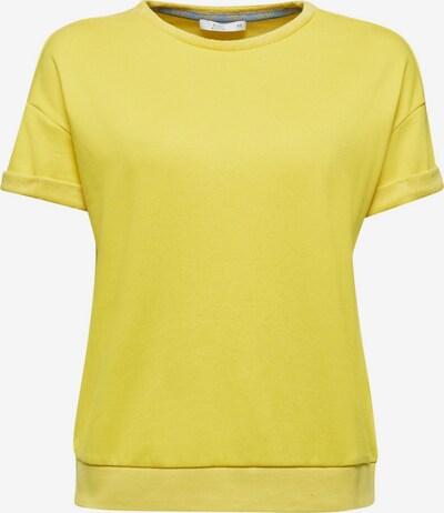 EDC BY ESPRIT Sweatshirt in gelb, Produktansicht