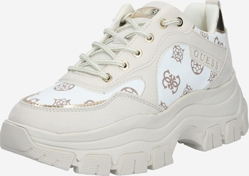 GUESS Sneakers 'Baryt' in White