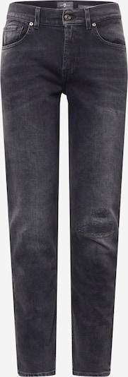 Jeans 7 for all mankind pe negru denim, Vizualizare produs