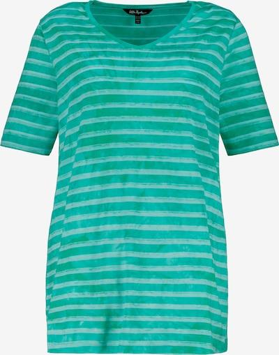 Ulla Popken Shirt in jade / mischfarben, Produktansicht