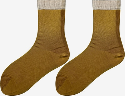 TOO HOT TO HIDE Medias finas 'NANDA'S SHINY SOCKS' en amarillo, Vista del producto