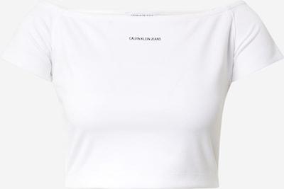 Calvin Klein Jeans Overdel 'Milano' i sort / hvid, Produktvisning
