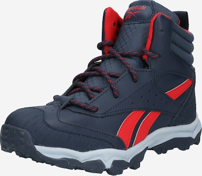 REEBOK Sportschuh 'Rugged Runner' in navy / rot, Produktansicht