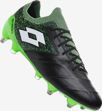 LOTTO Fußballschuh in grün / schwarz, Produktansicht