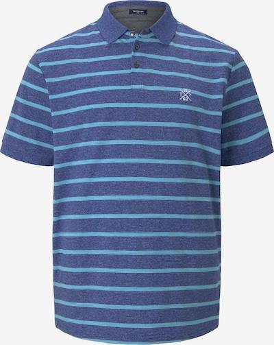 TOM TAILOR Men Plus Poloshirt in blaumeliert, Produktansicht
