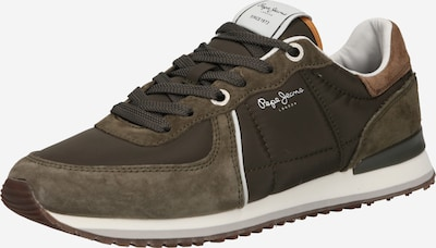 Pepe Jeans Sneakers 'TINKER CITY SMART' in Brown / Khaki, Item view