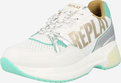 REPLAY Sneaker 'FARLEY' in goldgelb / jade / weiß, Produktansicht