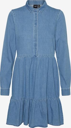 VERO MODA Košulja haljina 'VMMARIA FRILL' u plavi traper, Pregled proizvoda
