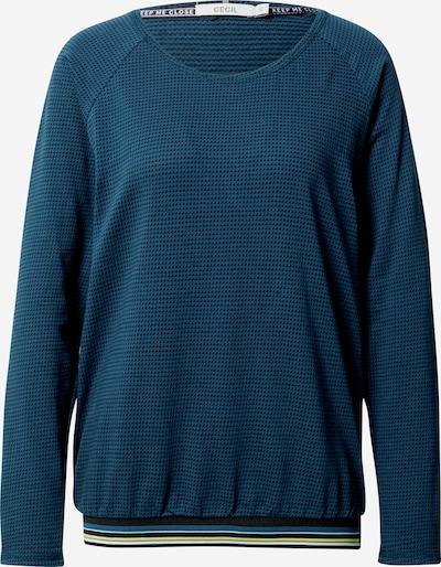 CECIL Shirt in de kleur Geel / Petrol / Zwart / Wit, Productweergave