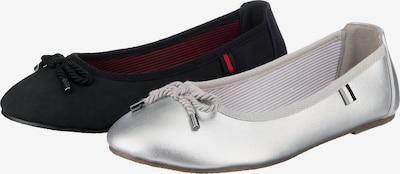 ambellis Schuh in schwarz / silber, Produktansicht