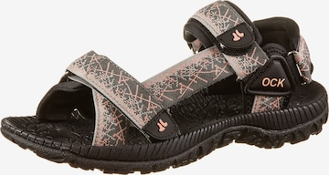 OCK Sandals 'Samoa' in Brown