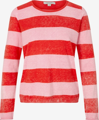 Ci comma casual identity Pullover in hellpink / rot, Produktansicht