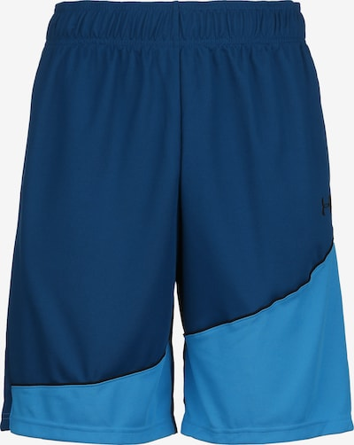 UNDER ARMOUR Basketballshorts in blau, Produktansicht