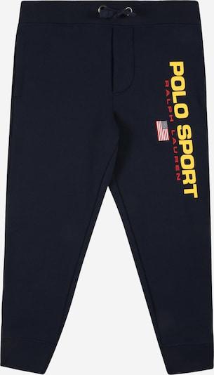 Polo Ralph Lauren Панталон в тъмносиньо / жълто / червено / бяло, Преглед на продукта