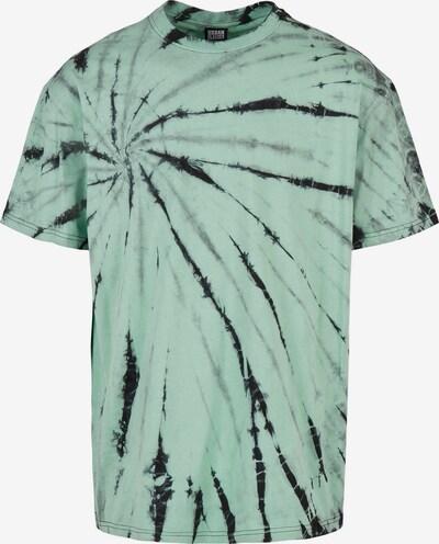 Tricou 'Boxy Tye Dye' Urban Classics pe gri / verde mentă / negru, Vizualizare produs