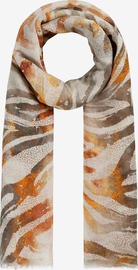 CODELLO Scarf in Beige / Grey / Orange, Item view