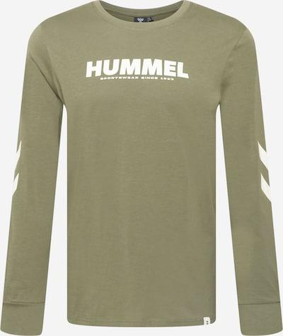 Hummel Tehnička sportska majica 'Legacy' u kaki / bijela, Pregled proizvoda