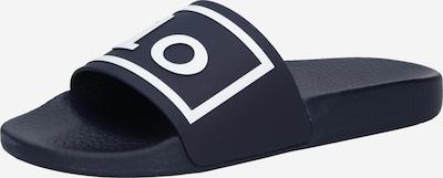 Polo Ralph Lauren Badeschuh in navy / weiß, Produktansicht