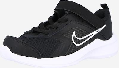NIKE Sportschuh 'Downshifter 11' in basaltgrau / schwarz / weiß, Produktansicht