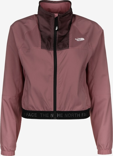 THE NORTH FACE Outdoor Jacket in Dusky pink / White, Item view