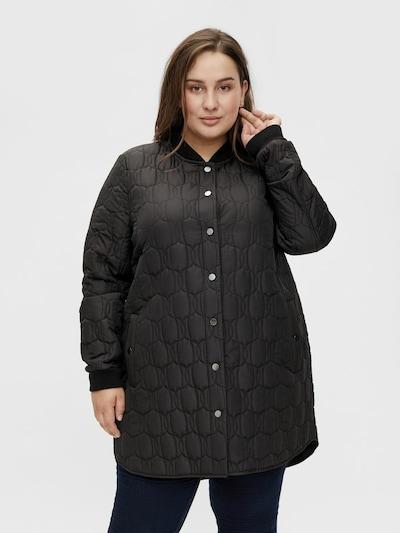 Palton de primăvară-toamnă 'Dilara' VILA pe negru, Vizualizare model