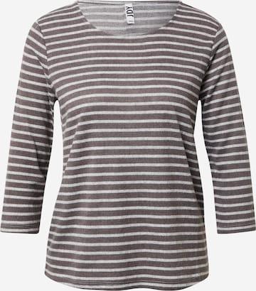 JDY Shirt 'ELIN TREATS ' in Grey