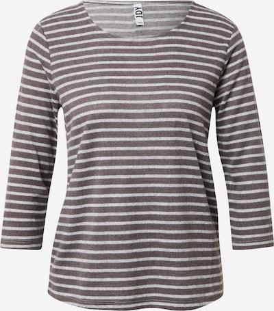 JDY Shirt 'ELIN TREATS ' in dunkelgrau / weiß, Produktansicht
