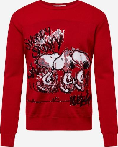 Pulover 'Round Neck Knitted' ICEBERG pe roșu, Vizualizare produs