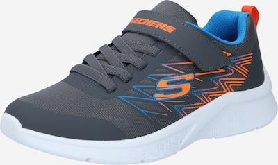 SKECHERS Sneakers 'MICROSPEC-TEXLOR' in Royal blue / Stone / Light orange, Item view