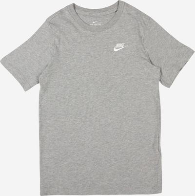 Nike Sportswear T-Shirt en gris clair, Vue avec produit