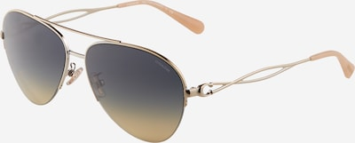 COACH Okulary przeciwsłoneczne '0HC7124' w kolorze beżowy / ciemny niebieski / złotym, Podgląd produktu