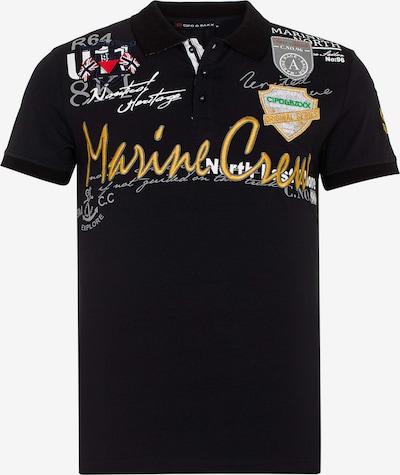 CIPO & BAXX Poloshirt in schwarz, Produktansicht