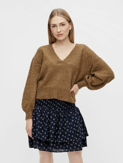 Y.A.S Pullover 'Caly' in bronze, Modelansicht