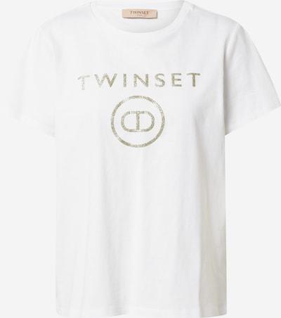 Twinset Тениска в злато / бяло, Преглед на продукта