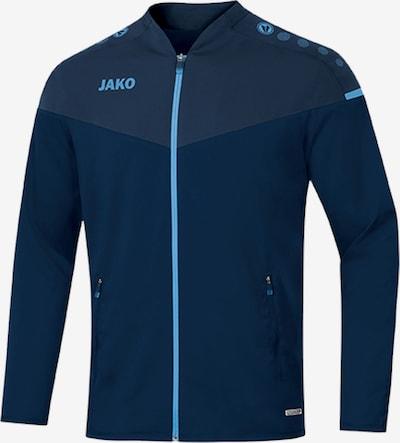 JAKO Sportjacke in navy / nachtblau / hellblau, Produktansicht